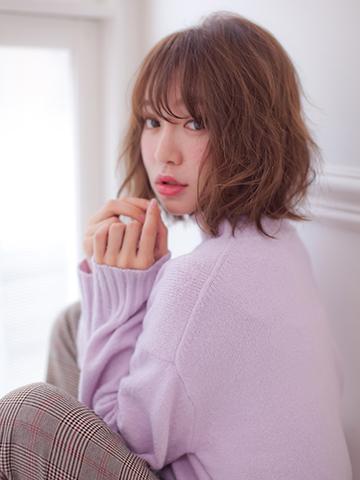 ボブ×パーマでつくる【大人女子】の為のニアンススタイル_
